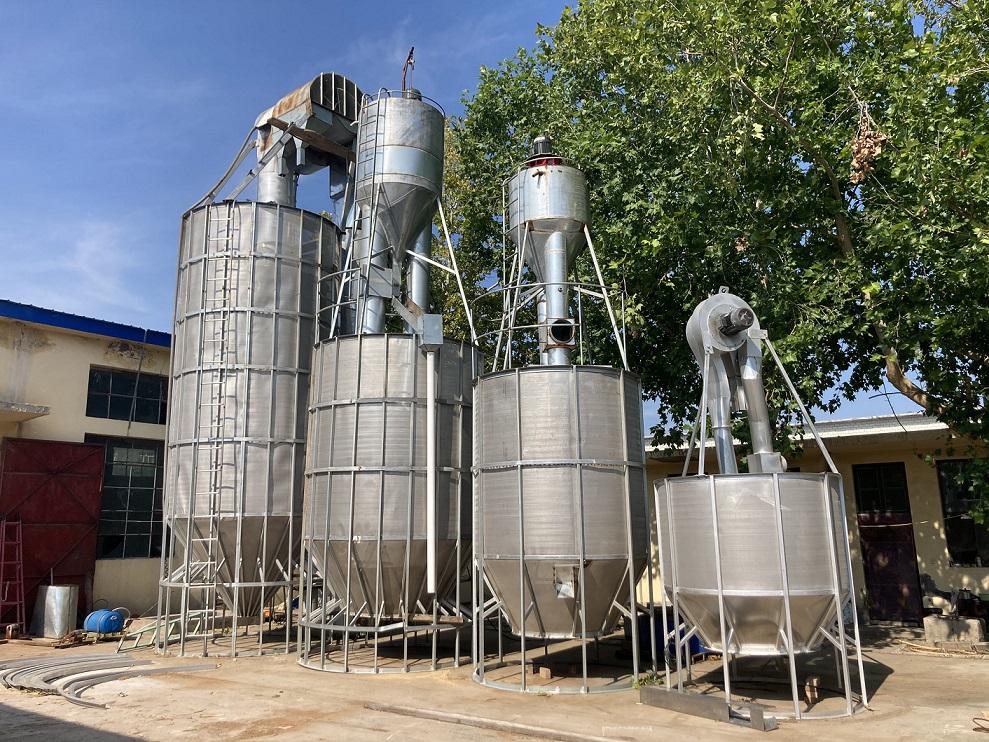 河北皓凯气吸循环式粮食干燥机多种型号系列产品!
